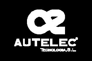 Autelec Tecnologìa - Maquinarias aceite de oliva - logotipo blanco autelec