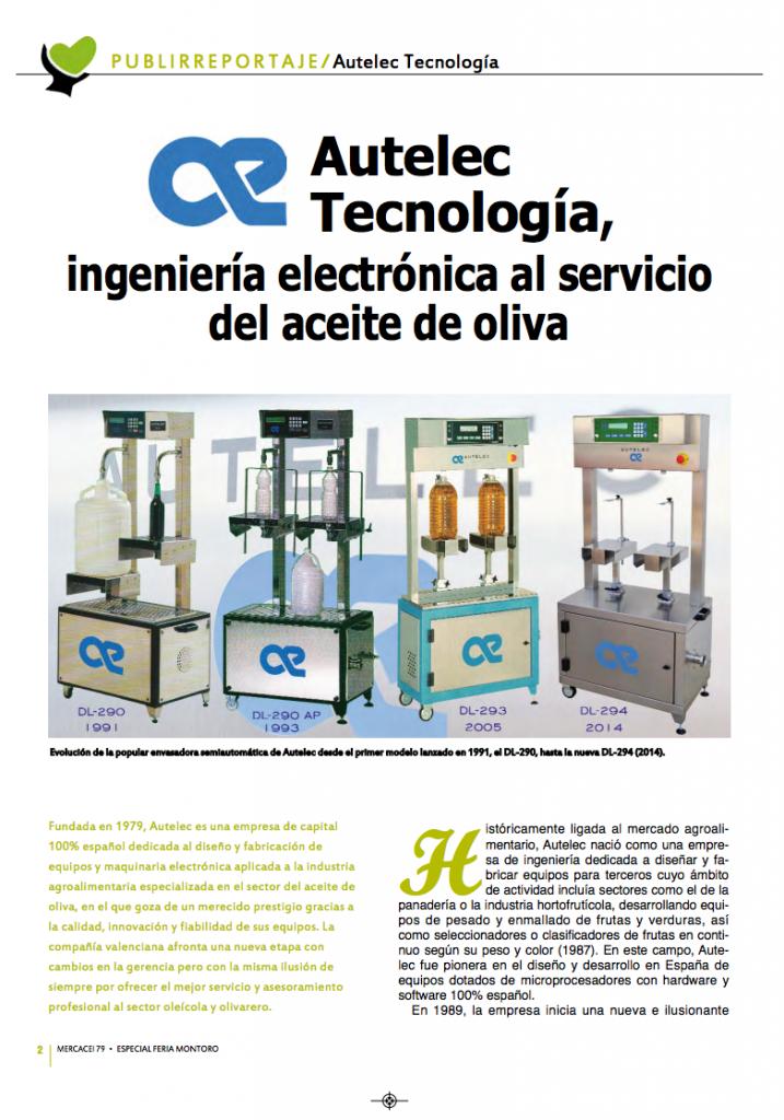 autelec tecnologia - ingenieria electronica al servicio del aceite de oliva - mercacei